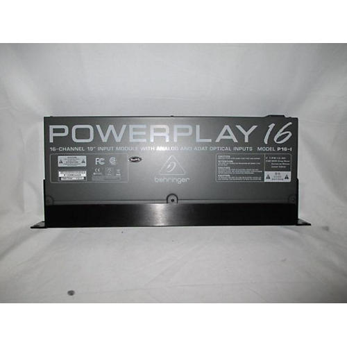 Behringer Powerplay 16 P16-i Audio Converter
