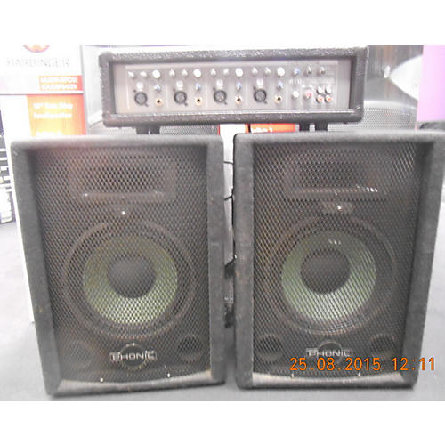 Phonic Powerpod 410 Black Sound Package