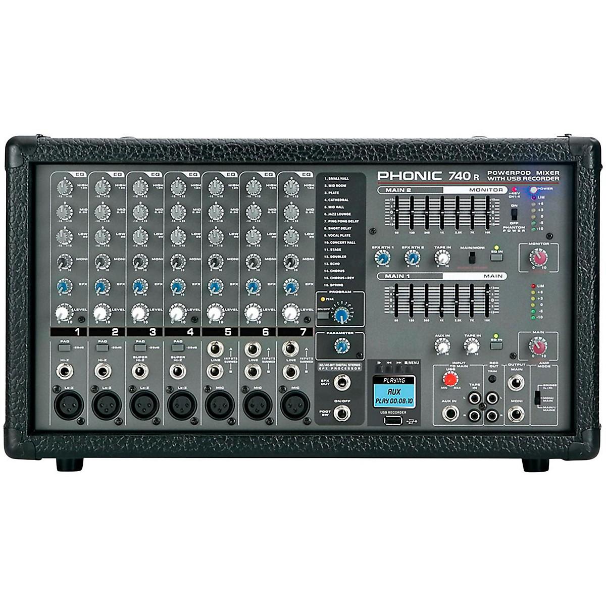 Phonic Powerpod 740 R Powered Mixer