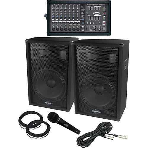 Phonic Powerpod 780 / S715 PA Package