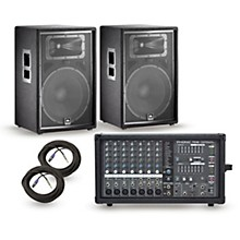 Phonic Powerpod 780 Plus Mixer with JRX Speakers PA Package