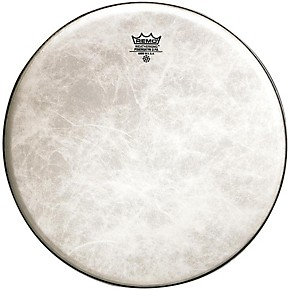 remo powerstroke 3 fiberskyn thin bass drum heads 18 in guitar center. Black Bedroom Furniture Sets. Home Design Ideas