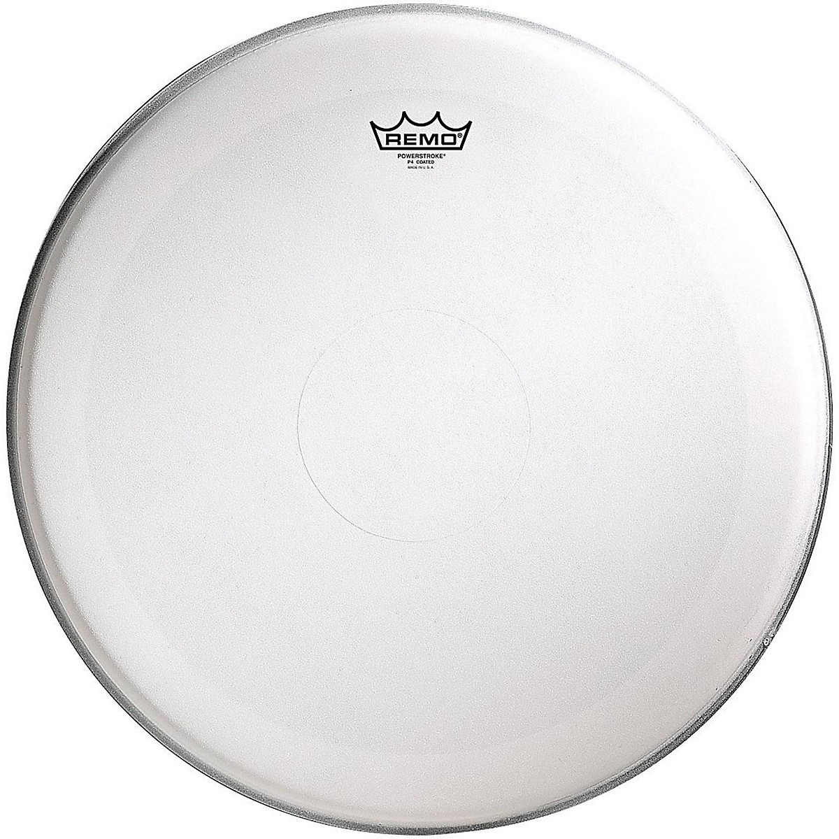 Remo Powerstroke 4 Coated Batter Drum Head with Clear Dot