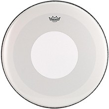 Remo Powerstroke 4 Smooth White Batter Bass Drum Head with White Dot