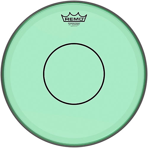 Remo Powerstroke 77 Colortone Green Drum Head