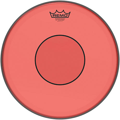 Remo Powerstroke 77 Colortone Red Drum Head