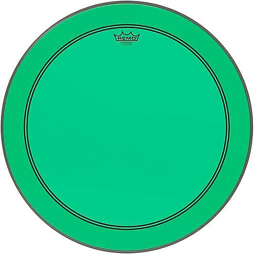 Remo Powerstroke P3 Colortone Green Bass Drum Head