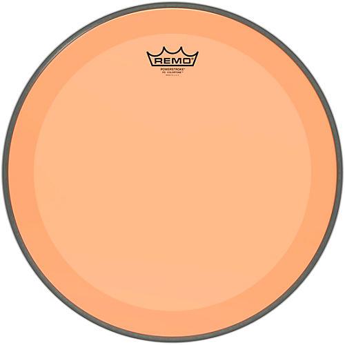 Remo Powerstroke P3 Colortone Orange Bass Drum Head