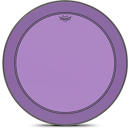 Remo Powerstroke P3 Colortone Purple Bass Drum Head