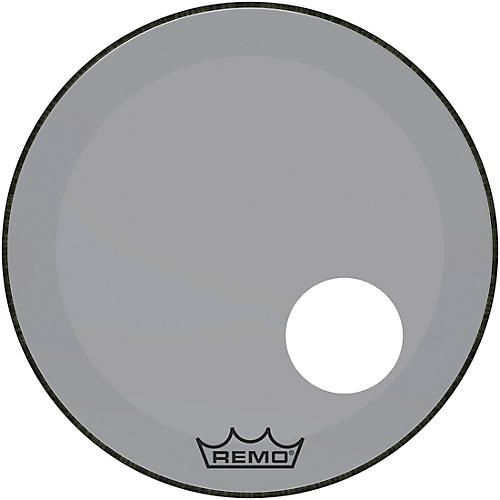 remo powerstroke p3 colortone smoke resonant bass drum head with 5 offset hole 22 in guitar. Black Bedroom Furniture Sets. Home Design Ideas