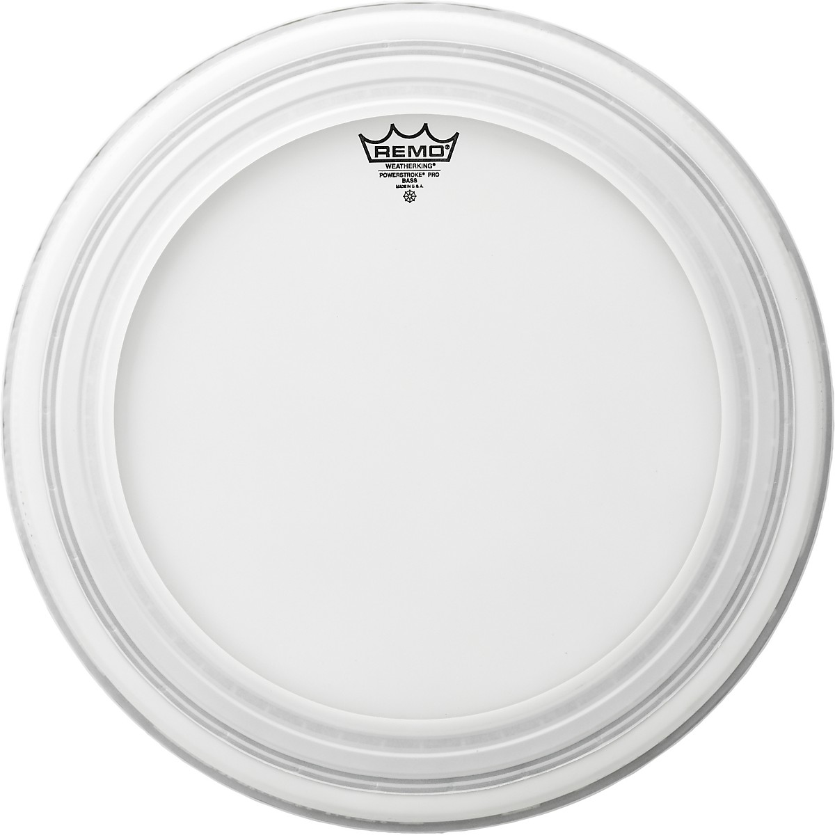 """Remo 20/"""" Powerstroke Pro Coated Bass Drum Head"""