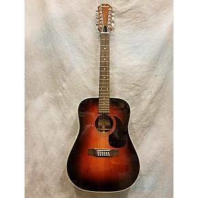 used epiphone pr715 12 asb 12 string acoustic guitar guitar center. Black Bedroom Furniture Sets. Home Design Ideas
