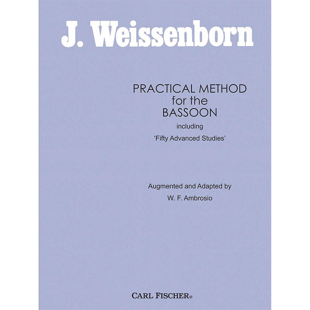 Carl Fischer Practical Method For The Bassoon