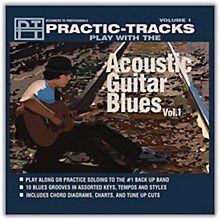 Practice Tracks Acoustic Guitar Blues Vol 1 Play Along CD