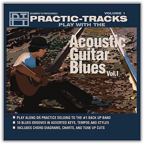 Practice Tracks Practice Tracks Acoustic Guitar Blues Vol 1 Play Along CD