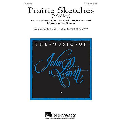 Hal Leonard Prairie Sketches (Medley) SATB arranged by John Leavitt