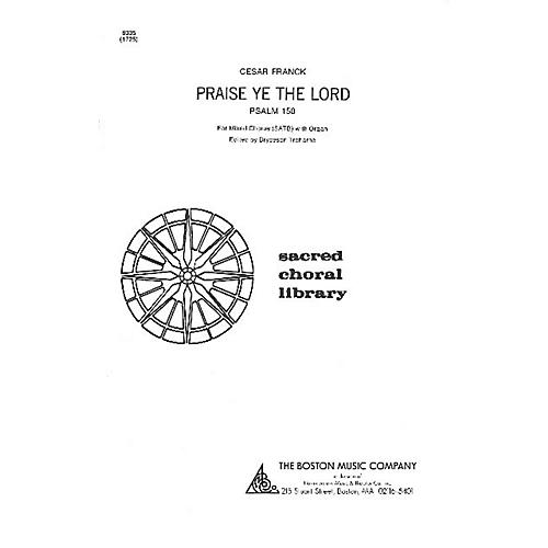 Music Sales Praise Ye the Lord SATB