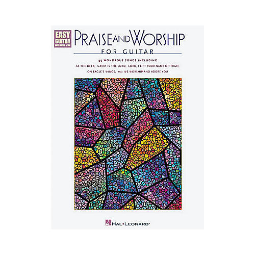 Hal Leonard Praise and Worship Easy Guitar Tab Book