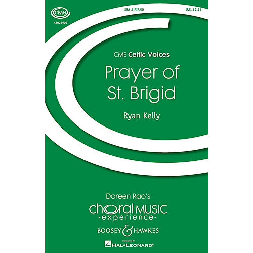 Boosey and Hawkes Prayer of St. Brigid (CME Celtic Voices) SSA composed by Ryan Kelly