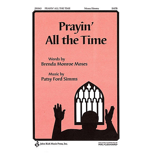Pavane Prayin' All the Time SATB a cappella composed by Patsy Ford Simms