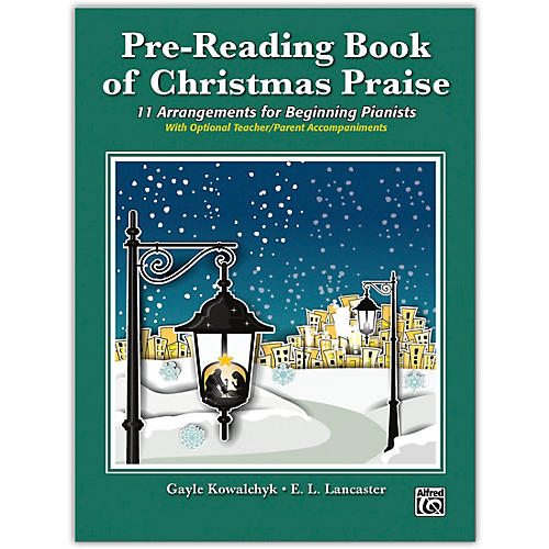 Alfred Pre-Reading Book of Christmas Praise Early Elementary