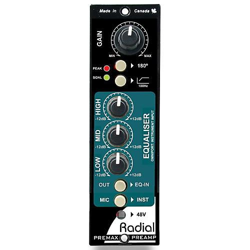 Radial Engineering PreMax 500 Series Channel Strip
