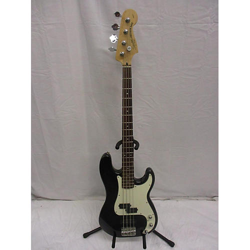used squier precision bass electric bass guitar black guitar center. Black Bedroom Furniture Sets. Home Design Ideas