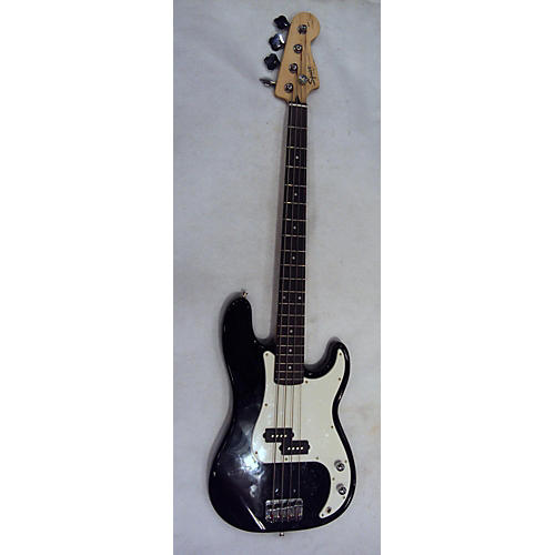 used squier precision bass electric bass guitar black and white guitar center. Black Bedroom Furniture Sets. Home Design Ideas