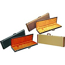 Fender Precision Bass Hardshell Case Level 1 Black Orange Plush Interior