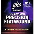GHS Precision Flats Electric Guitar Strings (11-46) thumbnail