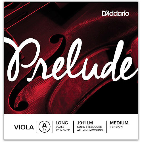 D'Addario Prelude Series Viola A String