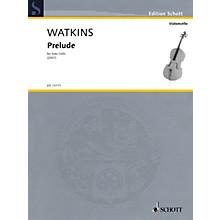 Schott Prelude (for Solo Cello) String Solo Series Softcover