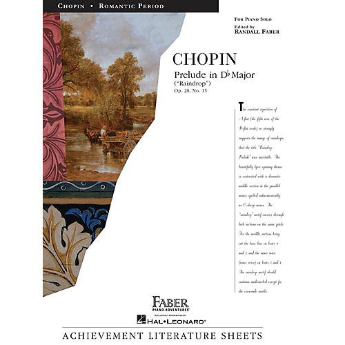 Faber Piano Adventures Prelude in D flat Major (Raindrop) Faber Piano Adventures® Series Composed by Frédéric Chopin