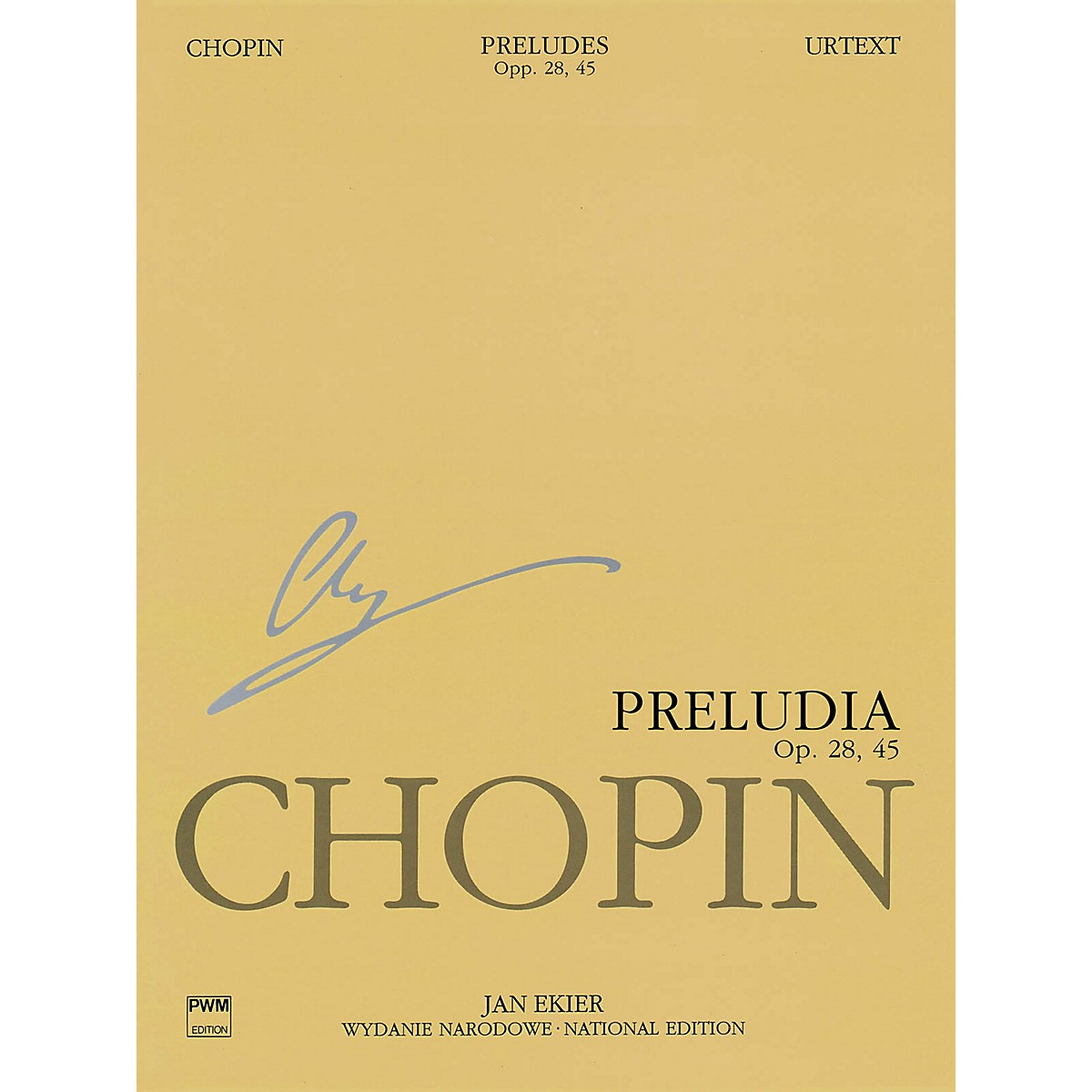 PWM Preludes (Chopin National Edition Vol. VII) PWM Series Softcover