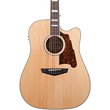 D'Angelico Premier Bowery Acoustic-Electric Guitar Level 1 Natural
