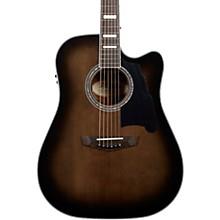 Premier Bowery Dreadnought Acoustic-Electric Guitar Level 1 Grey Black
