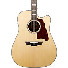 Premier Bowery Dreadnought Acoustic-Electric Guitar Level 2 Natural 190839887948