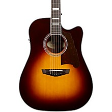 Premier Bowery Dreadnought Acoustic-Electric Guitar Level 2 Vintage Sunburst 190839701138