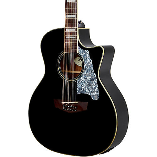 D'Angelico Premier CS Series Fulton Grand Auditorium 12-String Acoustic-Electric Guitar