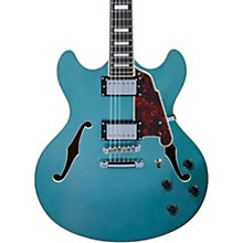 Premier DC Semi-Hollow Electric Guitar with Stopbar Tailpiece Ocean Turquoise