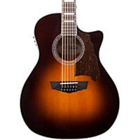 D'Angelico Premier Fulton 12-String Acoustic-Electric Guitar (Sunburst)