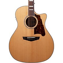 D'Angelico Premier Gramercy Acoustic-Electric Guitar Level 1 Natural