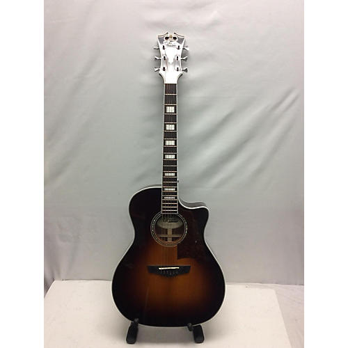 used d 39 angelico premier gramercy acoustic guitar vintage sunburst guitar center. Black Bedroom Furniture Sets. Home Design Ideas