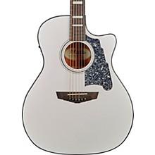 Premier Gramercy Grand Auditorium Acoustic-Electric Guitar Level 1 Matte White