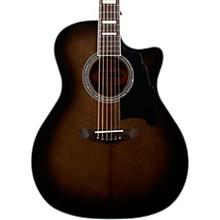 Premier Gramercy Grand Auditorium Acoustic-Electric Guitar Level 2 Grey Black 190839725882
