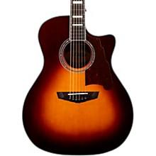 Premier Gramercy Grand Auditorium Acoustic-Electric Guitar Level 2 Vintage Sunburst 190839712295