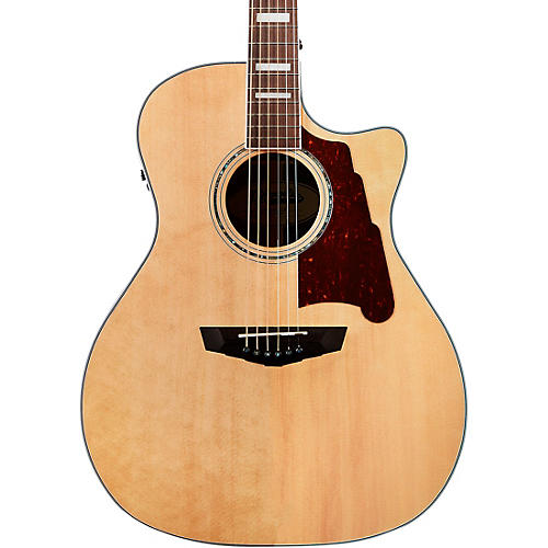 D'Angelico Premier Gramercy Grand Auditorium Acoustic-Electric Guitar Natural