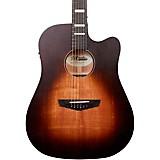 D'Angelico Premier Lafayette Dreadnought Acoustic-Electric Guitar Vintage Sunburst