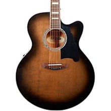 Premier Madison Jumbo Acoustic-Electric Guitar Level 1 Grey Black
