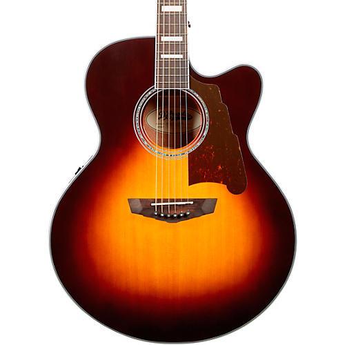 d 39 angelico premier madison jumbo acoustic electric guitar vintage sunburst guitar center. Black Bedroom Furniture Sets. Home Design Ideas